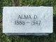 Profile photo:  Alma Cleo <I>Dale</I> Reesman