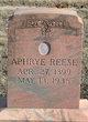 Aphrye Elizabeth <I>Barclift</I> Reese