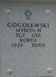 Myron Henry Gogolewski