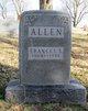 Frances Ella <I>Cooley</I> Allen