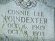 Profile photo:  Connie Lee Poindexter