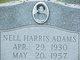 Profile photo:  Nell Harris Adams