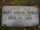 Mary Adelia <I>Thomas</I> Souls