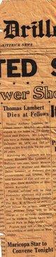 Thomas Anthony Lambert