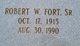 Robert Wesley Fort, Sr
