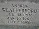 Andrew Washington Weatherford