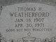 Thomas Hubert Weatherford