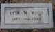 Etta M <I>Johnson</I> Wood