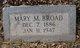Mary Maude Broad