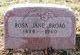 Rosa Jane <I>Wood</I> Broad