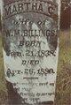 "Martha Caroline ""Callie"" <I>Ritchie</I> Billings"