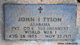 Pvt John I. Tyson