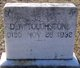 "Daniel W ""D W"" Touchstone"