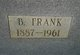 Profile photo:  Benjamin Franklin Price