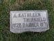 Profile photo:  A. Kathleen <I>Thirkield</I> Banner