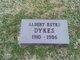 Profile photo:  Albert Estes Dykes