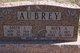 "Geneva Inez ""Sally"" <I>Hatton</I> Aubrey"