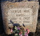"Virginia Mae ""Vergie"" <I>Gregson</I> Amos"