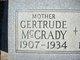 Gertrude McCrady