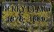Henry Bland