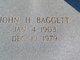 John H Baggett
