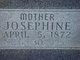 """Josephine Jean """"Josie"""" <I>Nance</I> Eckols"""