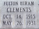 Fulton Hiram Clements