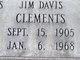 Jim Davis Clements