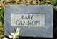 Profile photo:  Baby Cannon