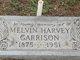 Melvin Harvey Garrison