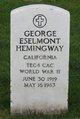 George Eselmont Hemingway