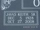 """Javas Keith """"Skin"""" Oxner, Sr"""