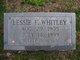 Profile photo:  Lessie Maryland <I>Franks</I> Whitley