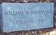 William H Heermann