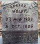 """Gerard """"Jerry"""" Wolff"""