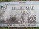 Lillie Mae <I>Bland</I> Starks