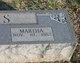 Martha <I>McKissic</I> Doss