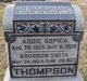 "Ada Sophia ""Addie"" <I>Shaffer</I> Thompson"
