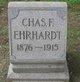 Charles F Ehrhardt