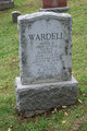 Martha Jane <I>Tice</I> Wardell