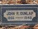 Profile photo:  John R. Dunlap