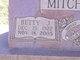 Betty J. <I>Allen</I> Mitchell
