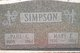 Paul Gimmell Simpson, I