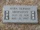 Myra <I>Herman</I> Abernathy