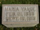 Maria Vance