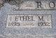 Ethel Mae <I>Garner</I> Ross
