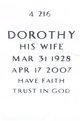 Profile photo:  Dorothy Minette <I>Jackson</I> Frank