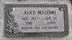 Helena Alice <I>Simpson</I> Bellomo