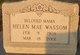 Helen Mae <I>Cunningham</I> Wassom