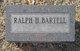 Profile photo:  Ralph H. Bartell
